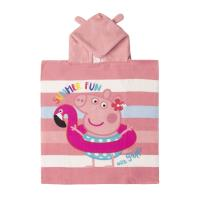 PONCHO POLYESTER APPLICATIONS PEPPA PIG