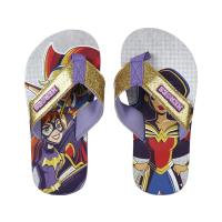 TONGS POLYESTER  DC SUPERHERO GIRLS
