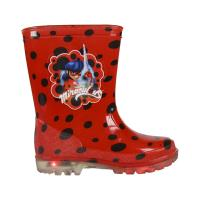 RAIN BOOTS PVC LIGHTS LADY BUG