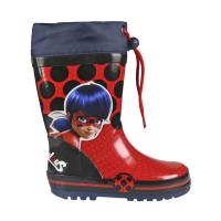 BOOTS RAIN RUBBER LADY BUG