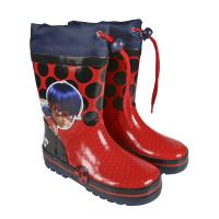 BOOTS RAIN RUBBER LADY BUG 1