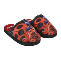 HOUSE SLIPPERS OPEN LADY BUG