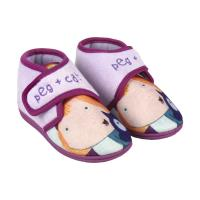 HOUSE SLIPPERS HALF BOOT PEG + CAT