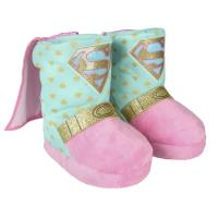HOUSE SLIPPERS BOOT DC SUPERHERO GIRLS