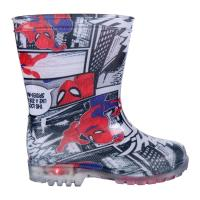 BOTAS LLUVIA PVC LUCES SPIDERMAN