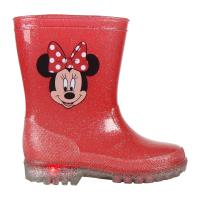 BOOTS RAIN PVC LIGHTS MINNIE