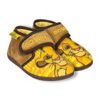HOUSE SLIPPERS HALF BOOT LION KING