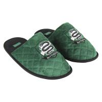 HOUSE SLIPPERS OPEN PREMIUM HARRY POTTER SLYTHERIN