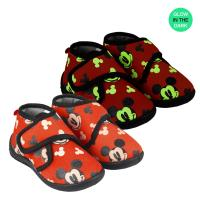 HOUSE SLIPPERS HALF BOOT MICKEY