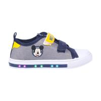SNEAKERS PVC SOLE WITH LIGHTS COTTON MICKEY