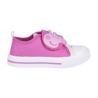 SNEAKERS PVC SOLE WITH LIGHTS COTTON PEPPA PIG