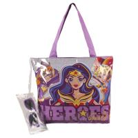 SAC À MAIN PLAGE DC SUPERHERO GIRLS
