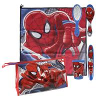 TRAVEL SET PERSONAL TOILETBAG / TRAVELBAG SPIDERMAN