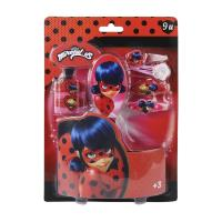 HAIR ACCESSORIES BLISTER LADY BUG