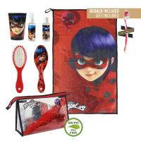 TRAVEL SET TOILETBAG LADY BUG