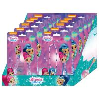 BRUSHES DISPLAY SHIMMER AND SHINE