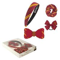 HAIR ACCESSORIES BOX 4 PIEZAS HARRY POTTER GRYFFINDOR