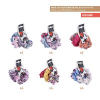HAIR ACCESSORIES SCRUNCHIES PACK x24 (MINNIE)
