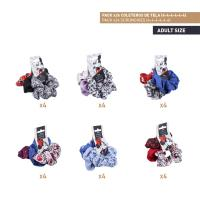 HAIR ACCESSORIES SCRUNCHIES PACK x24 (MICKEY , MINNIE)