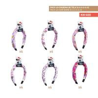 HAIR ACCESSORIES HAIRBAND PACK x24 (MINNIE)