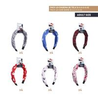 HAIR ACCESSORIES HAIRBAND PACK x24 (MICKEY , MINNIE)