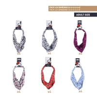 HAIR ACCESSORIES BANDANA PACK x24 (MICKEY , MINNIE)