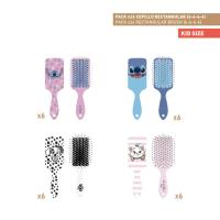 BROSSES À CHEVEUX RECTANGULAIRE PACK x24 (DISNEY)