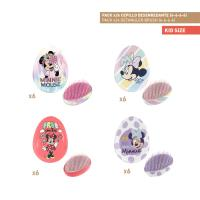 BROSSES À CHEVEUX DESENREDANTE PACK x24 (MINNIE)
