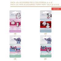 ACCESORIOS PELO COLETERO 24 PIEZAS (DISNEY)