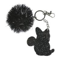 KEY CHAIN ACRILICO POM POM MINNIE 1