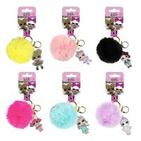 KEY CHAIN ACRILICO POMPOM LOL