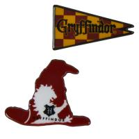 BROOCH HARRY POTTER GRYFFINDOR 1