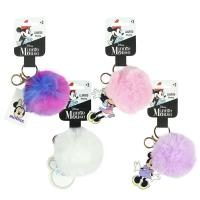 KEY CHAIN POMPOM MINNIE