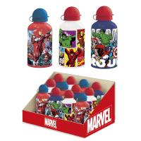 GARRAFA DE ALUMINIO DISPLAY MARVEL
