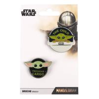 BROOCH THE MANDALORIAN THE CHILD