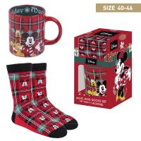 GIFT SET TAZA Y CALCETÍN MICKEY