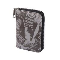 PURSE BUSINESS CARD HOLDER FAUX-LEATHER ACDC