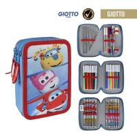 ASTUCCIO/PORTATUTTO TRIPLO GIOTTO SUPER WINGS