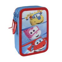ASTUCCIO/PORTATUTTO TRIPLO GIOTTO SUPER WINGS 1