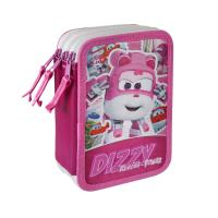 FILLED PENCIL CASE TRIPLE GIOTTO PREMIUM SUPER WINGS 1