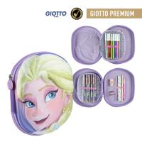 FILLED PENCIL CASE TRIPLE 3D FROZEN
