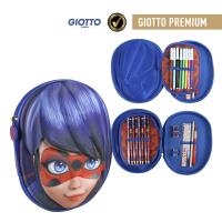 FILLED PENCIL CASE TRIPLE 3D LADY BUG