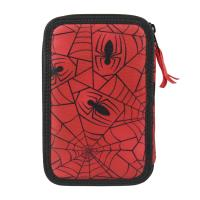 FILLED PENCIL CASE TRIPLE GIOTTO PREMIUM SPIDERMAN 1