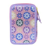 FILLED PENCIL CASE TRIPLE GIOTTO PREMIUM FROZEN 1