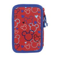 FILLED PENCIL CASE TRIPLE GIOTTO PREMIUM MICKEY 1