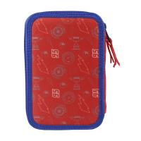 FILLED PENCIL CASE TRIPLE GIOTTO CARS 3 1