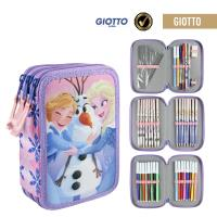 FILLED PENCIL CASE TRIPLE GIOTTO FROZEN