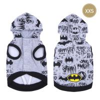 SWEATSHIRT POUR CHIEN XXS COTTON BRUSHED BATMAN