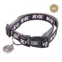 DOGS COLLAR M/L ACDC