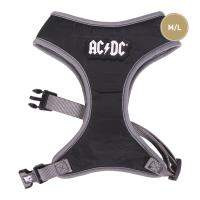 DOG HARNESS M/L ACDC